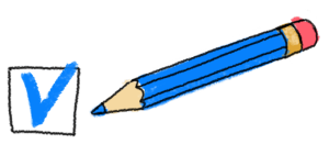 """""""abgehakt""""– Stift von alphaPROF"""