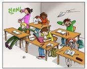 Lärm in der Klasse