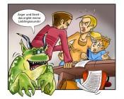 Lurs mit Ärger und Streit