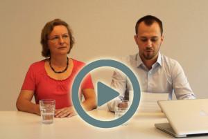 David Gerlach und Britta Büchner stellen alphaPROF im Video vor
