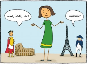 Welche Sprache