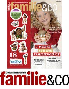 familie&Co ein ganzes Jahr gratis als e-Paper