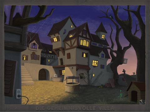 """""""Die Geheimnisvolle Villa"""""""