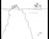 Ursachen von LRS Ausmalbild Eisberg