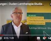 Screenshot Video Duden-Lerntherapie-Studie 2017