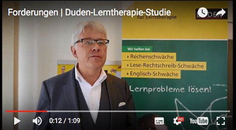 Screenshot Video Duden-Lerntherapie-Studie 2017