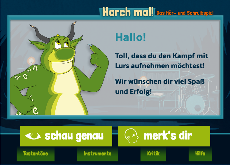 "Screenshot ""Horch mal!"" / LegaKids"