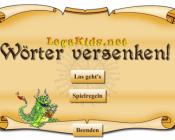 Lernspiel Legakids Wörter versenken Intro