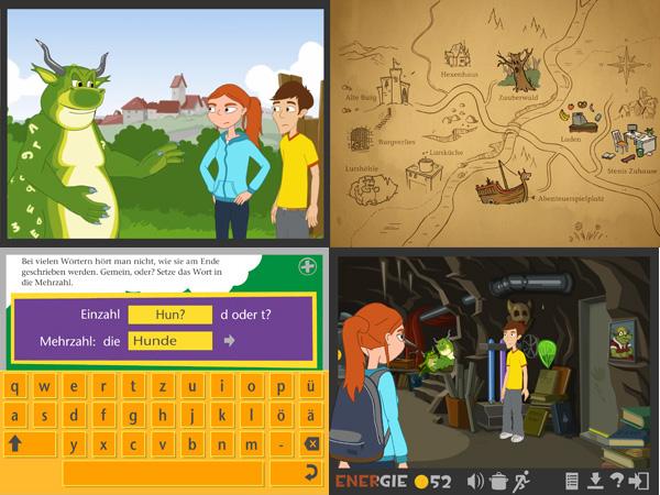 "Bildquelle: Screenshots ""Lurs-Abenteuer"" @ LegaKids Stiftungs GmbH"