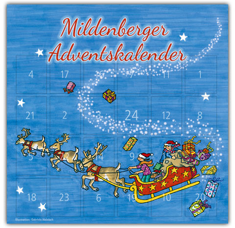 Screenshot Mildenberger Adventskalender