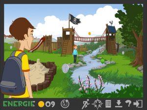 Screenshot Lurs-Abenteuer-App