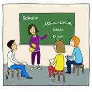 Referenten: außerschulische Förderkräfte kommen in die Schule