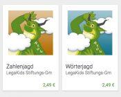 LegaKids-Apps Woerterjagd-Zahlenjagd