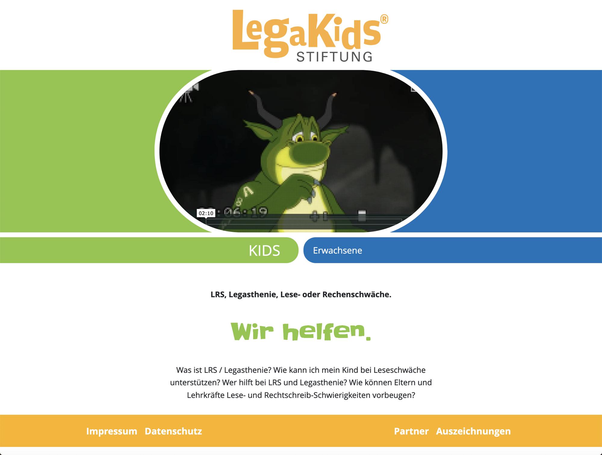 Hilfe bei LRS und Legasthenie