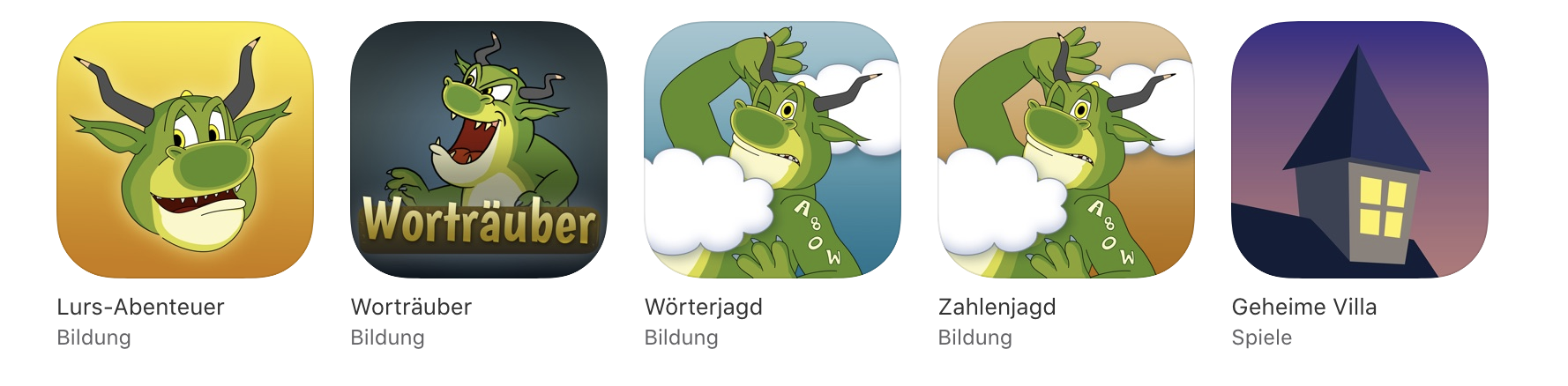 Alle LegaKids-Apps
