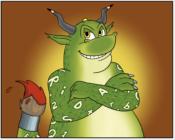 Lese-Rechtschreib-Monster Lurs: Eltern können helfen