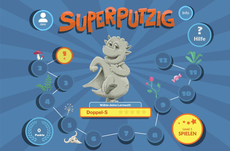 Startscreen SuperPutzig