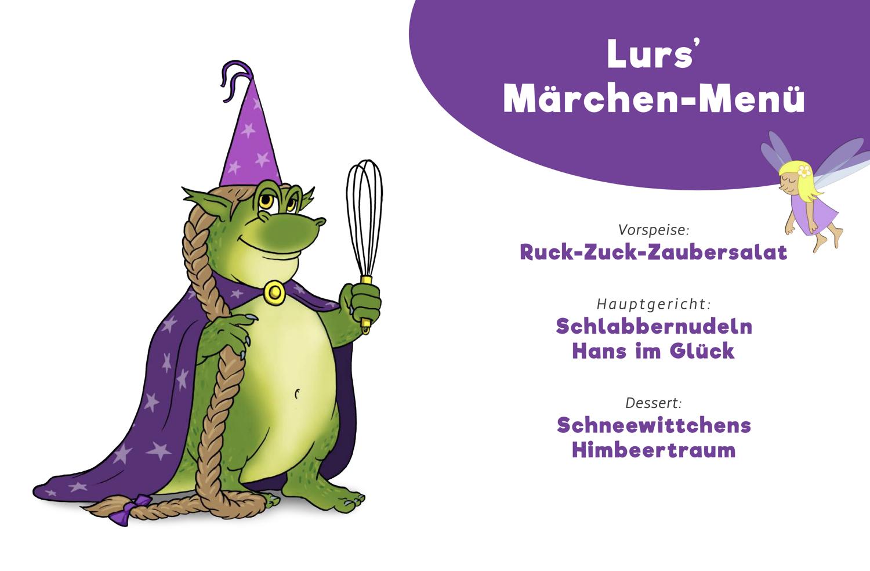 Kochen mit Lurs – Lurs' Märchen-Menü