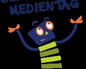 Maskottchen-Seitenstark Medientag